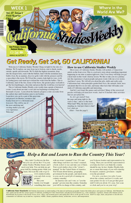 California Studies Weekly - Fourth Grade State History