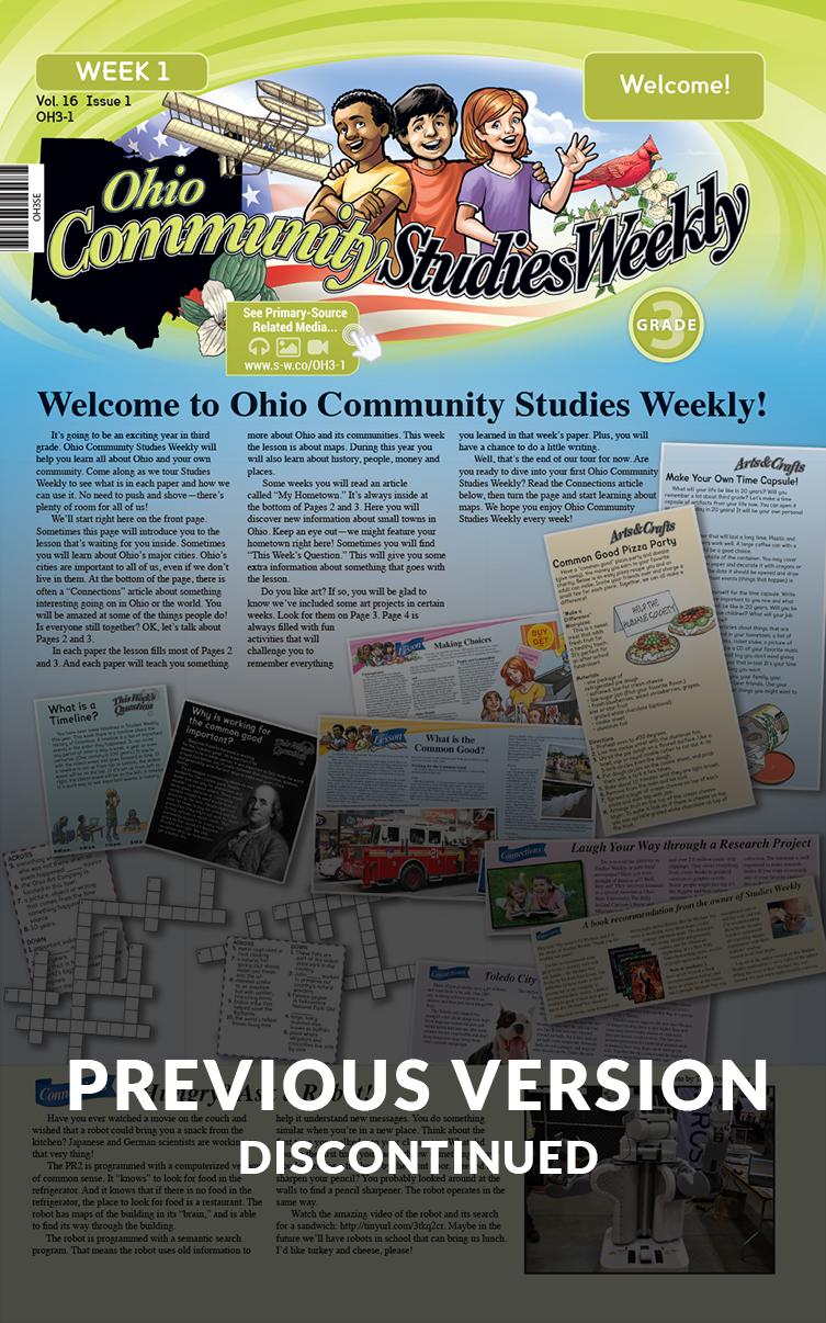 Ohio Community Studies Weekly